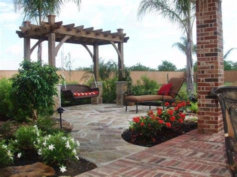 enclosure aesthetic outdoor patio pergola swing  red
