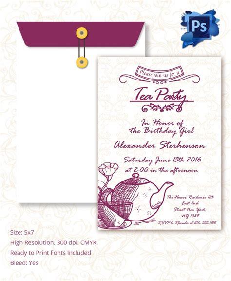 sample invitation template  premium