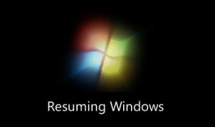 Windows 7 Resuming Windows by Connection