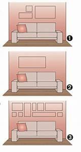 Große Bilder Aufhängen : wandbilder hinter das sofa richtig aufh ngen ~ Lateststills.com Haus und Dekorationen
