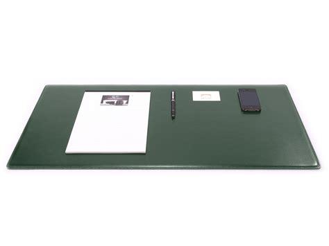 sous mains de bureau sous de bureau en cuir vert sm700