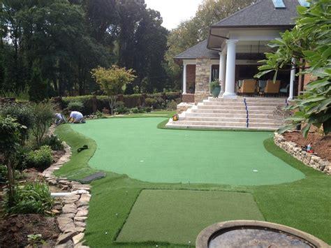 small backyard putting green backyard putting greens north carolina carolina outdoor golf greens
