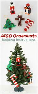 Free Lego Ornament Building Instructions