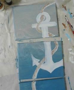Leinwand Selber Gestalten Ideen : hell blau pastell diy moderne leinwandbilder meer see deko pinterest selber machen ~ Frokenaadalensverden.com Haus und Dekorationen