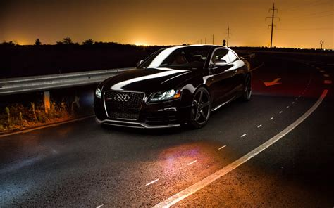Car Sunset Wallpaper by Car Audi Road Sunset Wallpapers Hd Desktop And Mobile