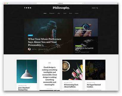 Template Philosophy Website Templates Bootstrap Colorlib Personal