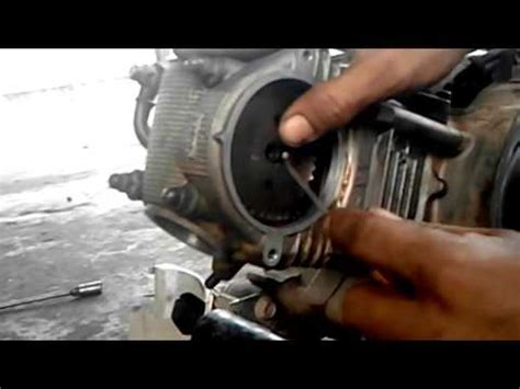 cara membuka mesin motor honda sport yang benar doovi