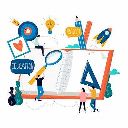 Distance Education Training Vector Courses Learning Graphics