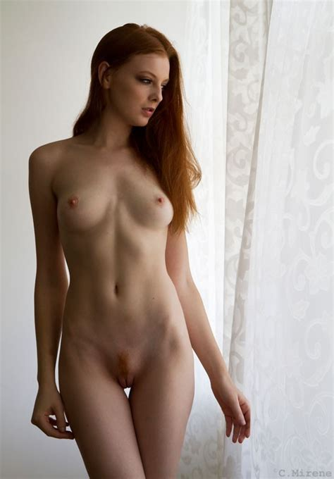 Perfect Body And A Nice Ginger Landing Strip Porn Photo