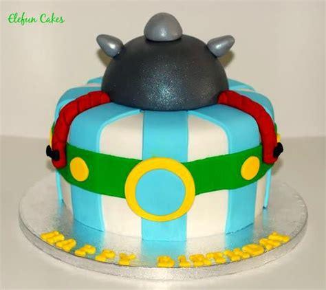obelix cake idee gateau gateau anniversaire enfant