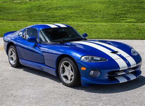 11k-mile 1997 Dodge Viper Gts For Sale On Bat Auctions