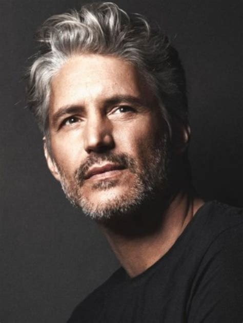 Best 25  Silver hair men ideas on Pinterest   Silver hair