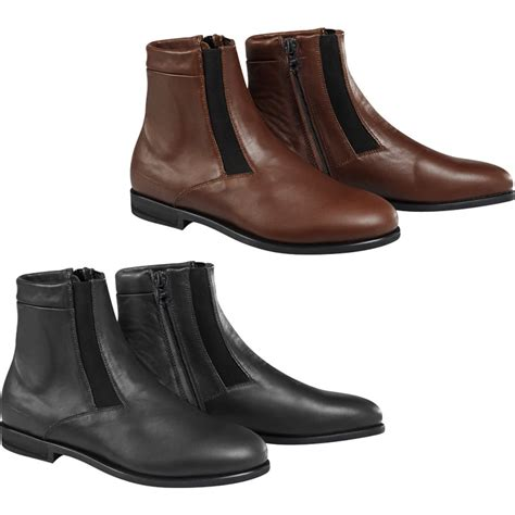 casual motorcycle riding boots alpinestars parlor riding shoe leather motorcycle
