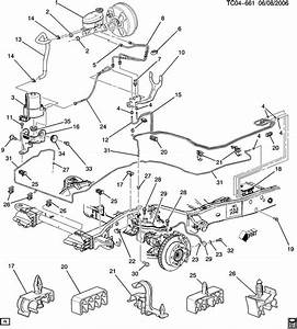 2007 Chevy Silverado Brake Line Diagram