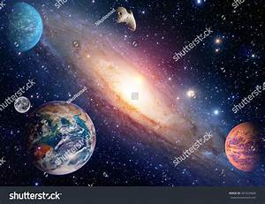 Astrology Astronomy Earth Moon Space Big Stock Photo