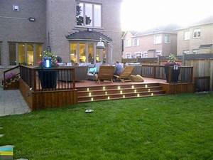 - M E Contracting Toronto Landscaping Design, Decking