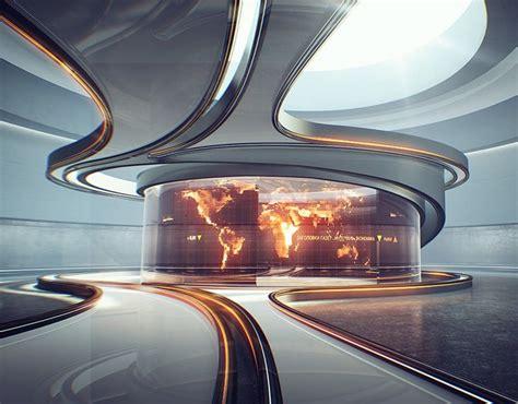 StarTV.News on Behance | Futuristic design, Futuristic interior, Futuristic architecture