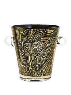I don't really see what the problem. $148.50 Jonathan Adler Malachite Glass Ice Bucket | Jonathan adler, Wine bucket, Wine chillers