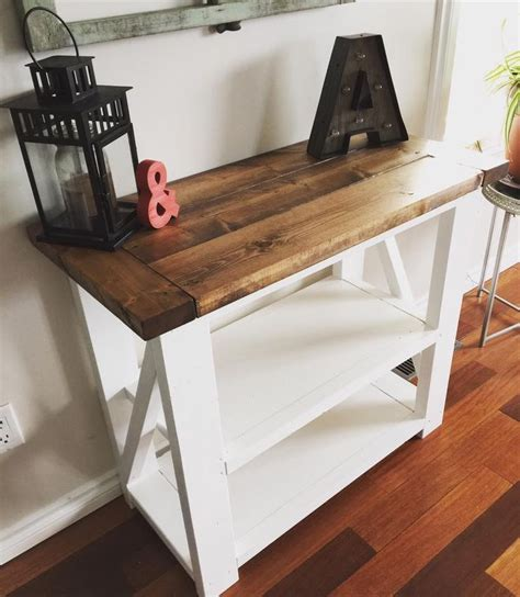 Industrial coffee table with hairpin legs. coffee bar table ideas, coffee bar table rustic, coffee bar table white, coffee bar table plans ...