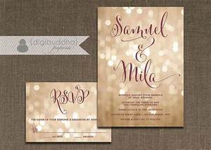16 best champagne glitter wedding invitations images on With wedding invitations in gold color