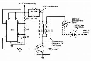 Ignition Coil Driver Circuit Schematic Circuit And