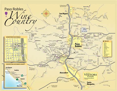 Paso Robles Wine Tasting Map - Paso Robles Daily News