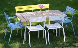 Mobilier De Jardin Fermob : chaise luxembourg aluminium fermob fermob mobilier jardin ensemble table et chaise et ~ Dallasstarsshop.com Idées de Décoration