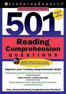 reading comprehension questions  learning express