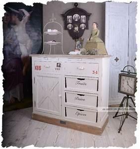Kommode Weiß Landhausstil : sideboard weiss anrichte schubladen kommode franz sischer landhausstil ~ Indierocktalk.com Haus und Dekorationen