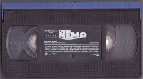 Finding Nemo Pixar Walt Disney Movie Vhs