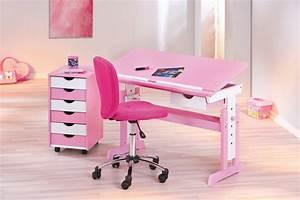 Bureau Fille Rose : chaise bureau fille rose le coin gamer ~ Teatrodelosmanantiales.com Idées de Décoration