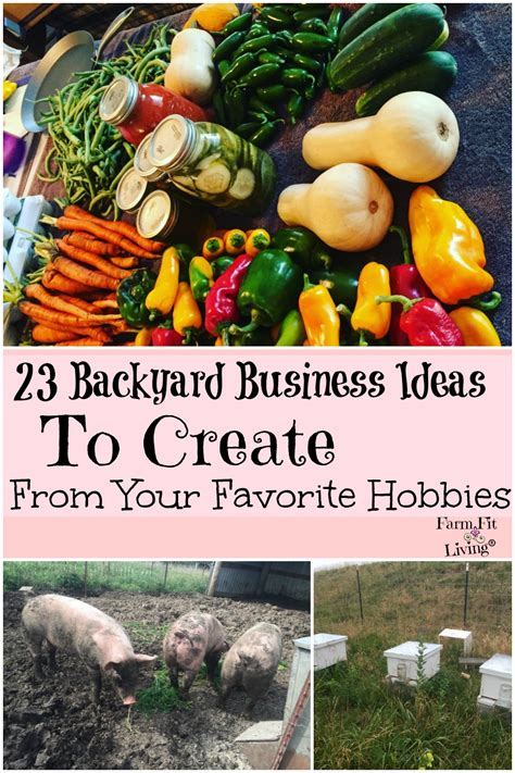 Backyard Business Ideas - 23 backyard business ideas to create from your hobbies