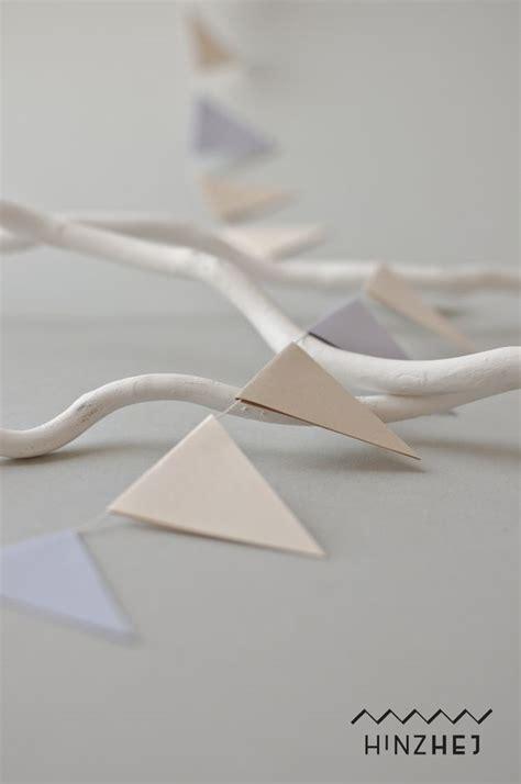 wimpel girlande aus papier wimpelkette hochzeit