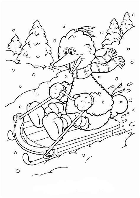 Disney Kleurplaat Winter by N 11 Coloring Pages Of Winter Sports