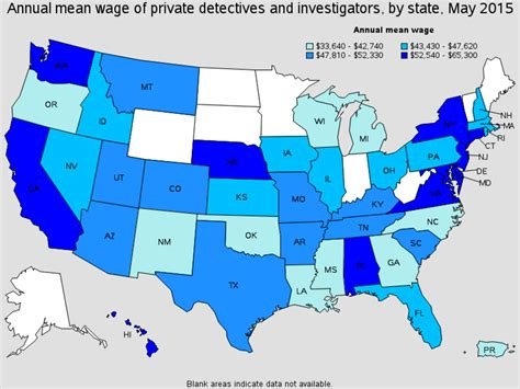 Detective Annual Salary by Ord Ne Detective And Investigator Salary
