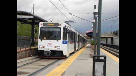 Light Rail Denver by Denver Rtd Light Rail Compilation Part I