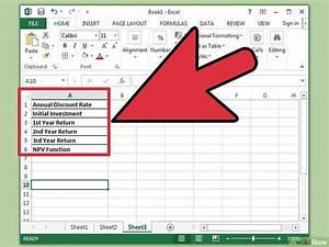 Excel Betrag Berechnen : in excel den kapitalwert berechnen wikihow ~ Themetempest.com Abrechnung