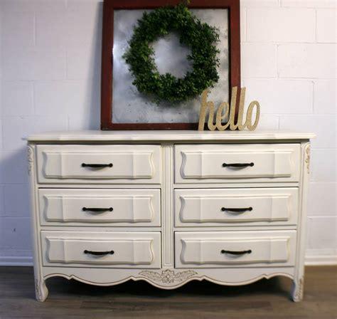 white rustic dresser dresser in antique white brown glaze general