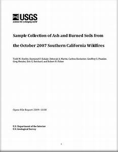 USGS Open-File Report 2009-1038: Sample Collection of Ash ...