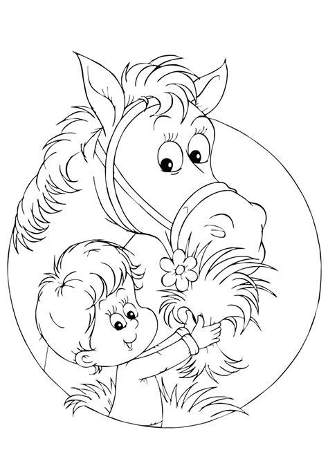 Kleurplaat Hooi by De 40 Allerleukste Paarden Kleurplaten Voor Kinderen