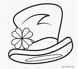 Coloring Leprechaun Printable Hat Cool2bkids Template sketch template