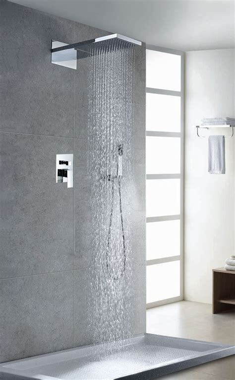contemporarymodern volume complete shower system