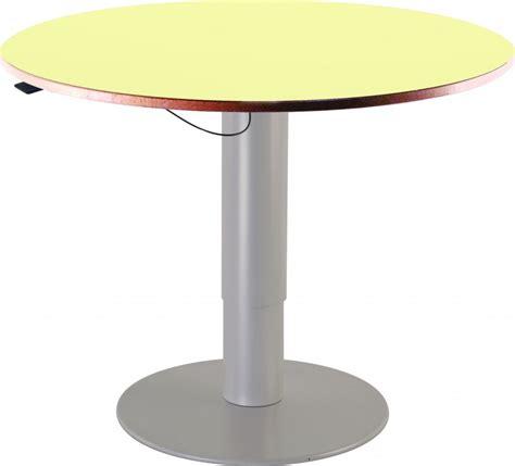 table hauteur réglable table ronde hauteur reglable