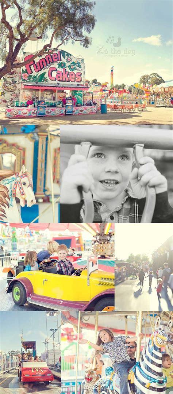 fun vintage carnival  family photo session ideas