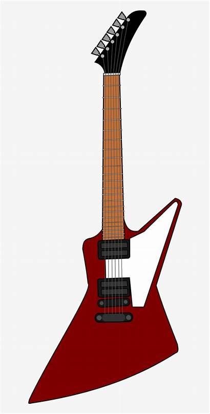 Guitar Electric Clipart Gibson Clip Bild Explorer