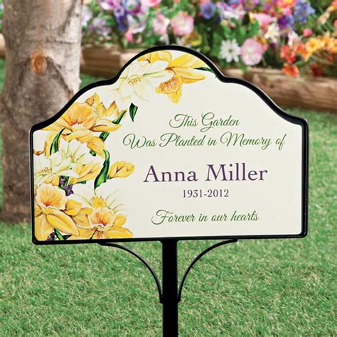 image gallery outdoor garden signs