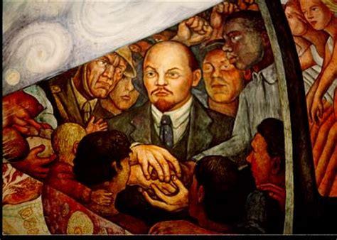 Stalinist Mural Diego Rivera Rockefeller Center by Mem 243 Rias Diego Rivera Nasceu H 225 128 Anos Esquerda
