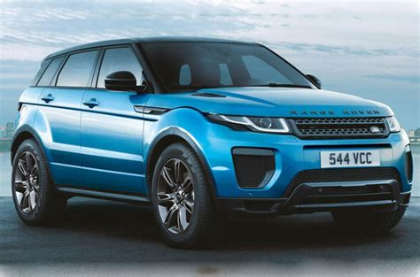 range rover evoque landmark edition celebrates  compact