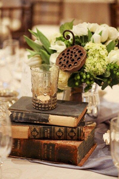 White Books For Decoration by Wedding Event Table Centrepiece Decorations