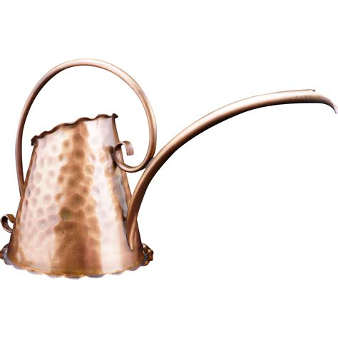 hammered copper l gregorian hammered copper watering can 97 from